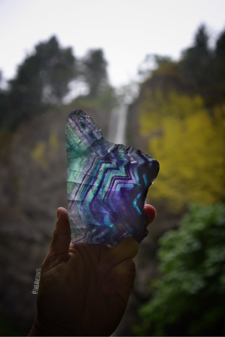 rainbow fluorite slabs listed - Metaphysical - theeancients | ello
