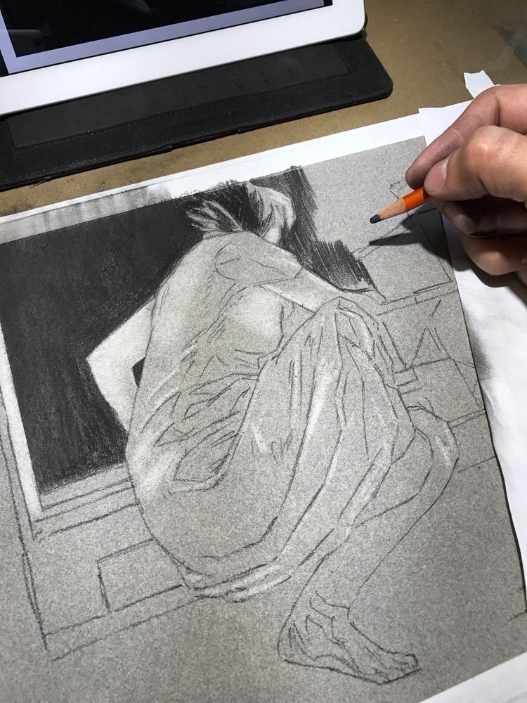 peek evolution latest drawing.  - reubennegron   ello