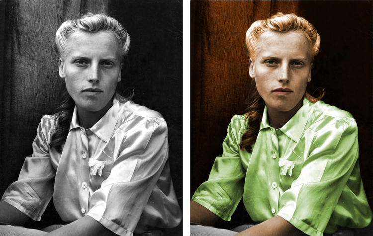 colorized photo - toddcarnes | ello