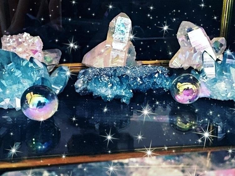 Aura crystals - auraquartz, reiki - mermaidtearshawaii | ello