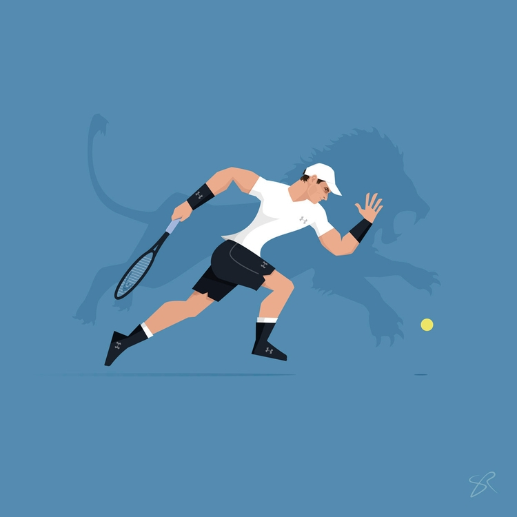 Andy Murray | Hidden Beasts ser - sr21 | ello