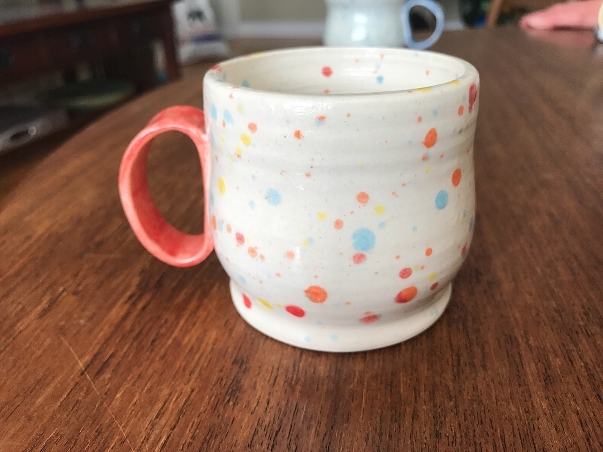 :candy:Hey sweet sprinkle cups  - lilpspottery | ello