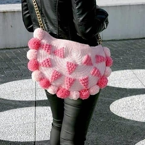pink pom poms gorgeous boho sho - vilka   ello