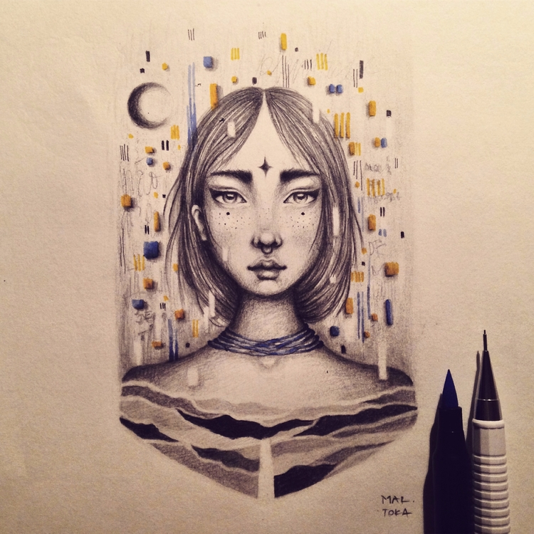 tokastudio, illustration, handmade - tokastudio | ello