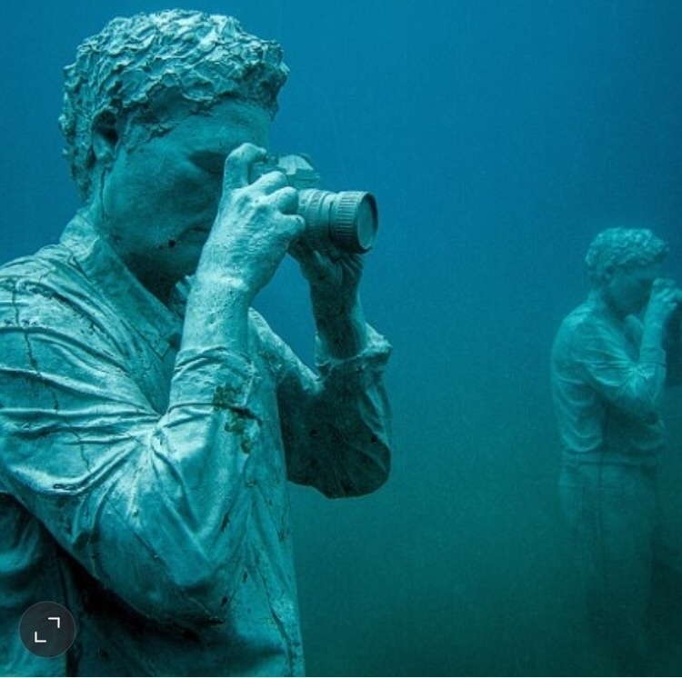 water museum Jason DeCaires Tay - bitfactory | ello