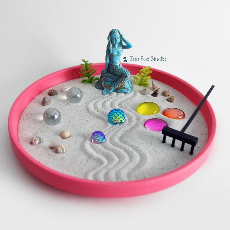 Add beautiful Mermaid Zen Garde - zenfoxstudio | ello