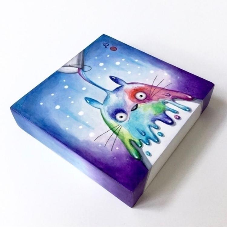 "time colors poured Totoro ""Drip - carolinaseth | ello"