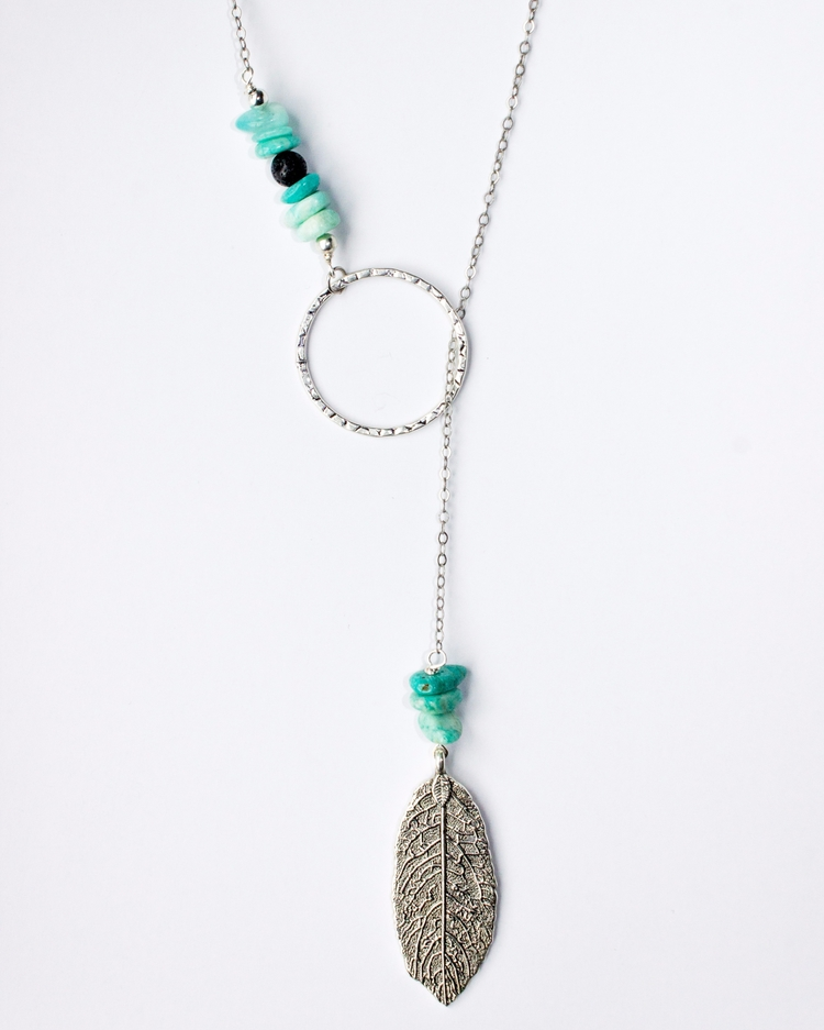 Lava Stone Amazonite essential  - creativeintentionmalas | ello