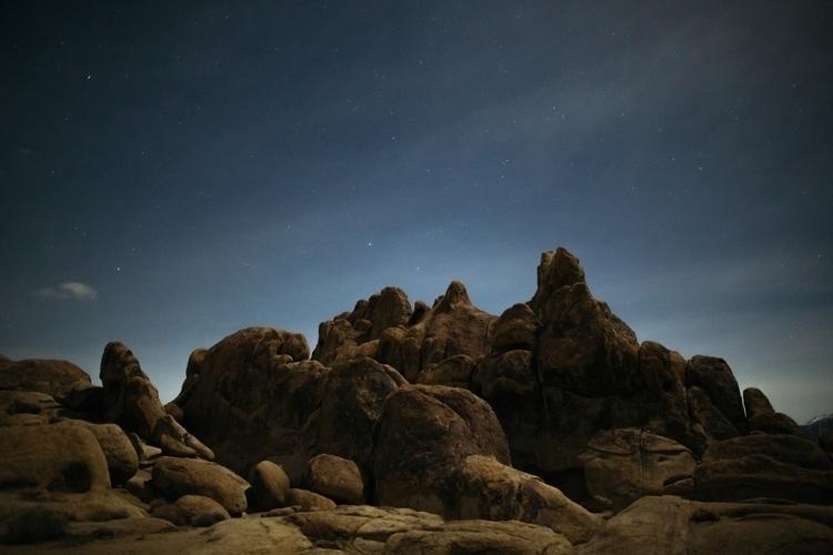 stars alabama hills - landscape - madelinejean | ello