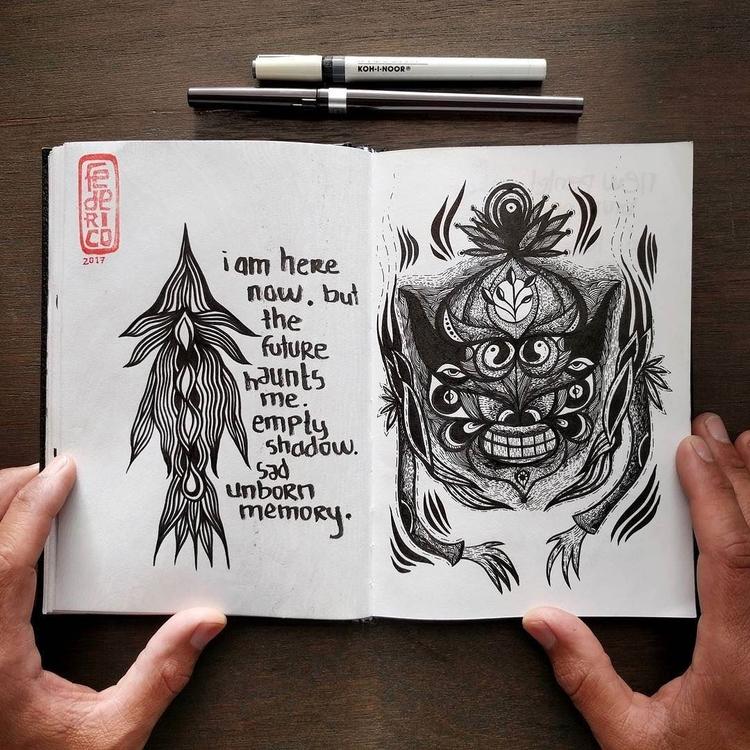 sketchbook blues - elloOriginalArtists - wolfcatworkshop   ello