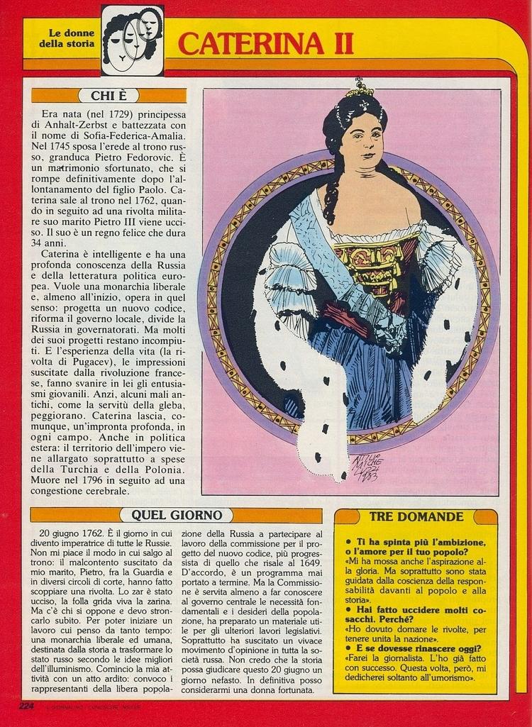 [Le donne della storia (2ª (di  - corrierino | ello