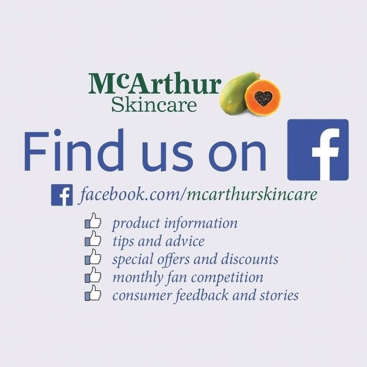 Find Follow McArthur Skincare F - mcarthurskincare | ello