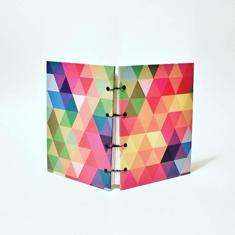 shop: rainbow prism journal! bl - colifichets | ello