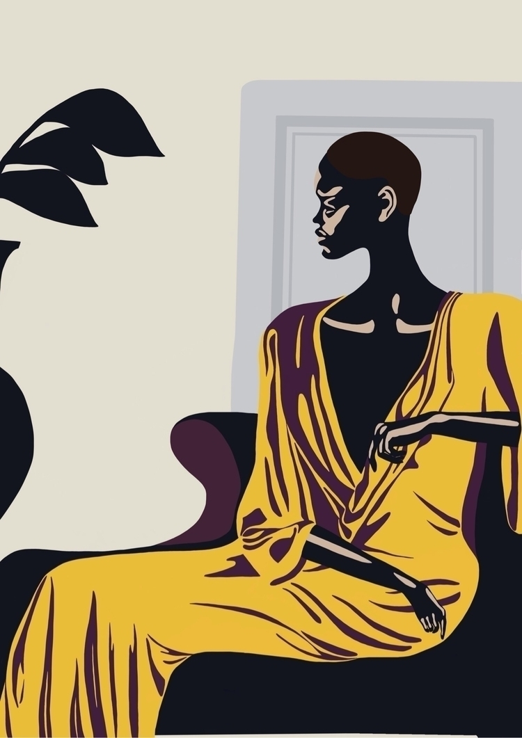 art, elloart, illustration, fashion - jyxchen | ello