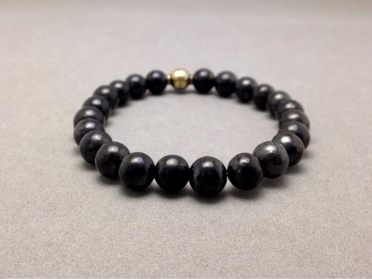 - smaller shungite bead bracele - soulluvshop | ello