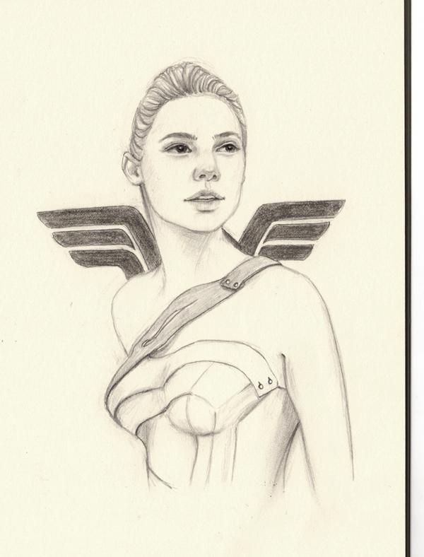 Girl Power - doodle, drawing, sketch - j0eyg1rl | ello
