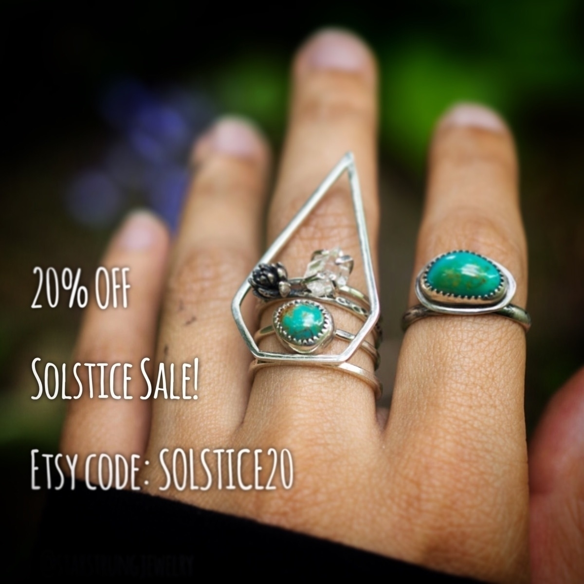 20% item Etsy store coupon code - starstrungjewelry | ello