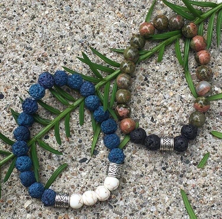 Lava Stone Diffuser Bracelet Ho - inascraftroom | ello