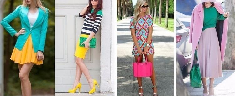 Как сочетать цвета в одежде Гла - ellyblog | ello