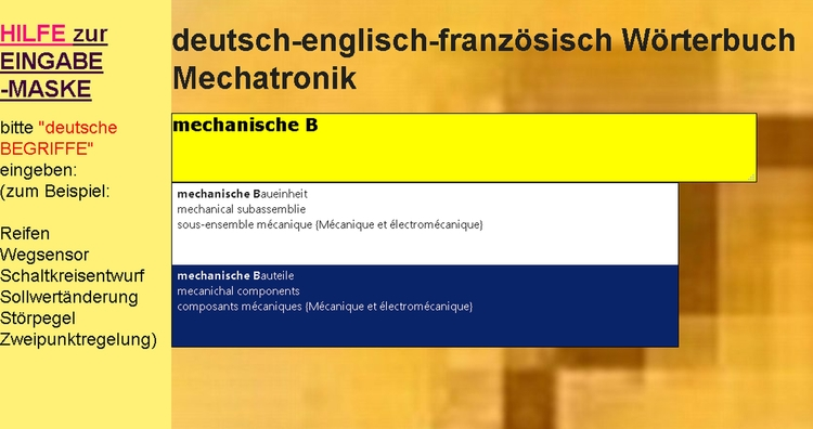 Vocabulaire automobile allemand - mechatronik-lehrmittel-wagner | ello