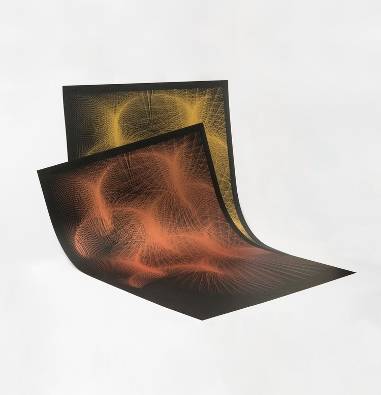 Fire Grids -- Silkscreen editio - zaldivartania | ello