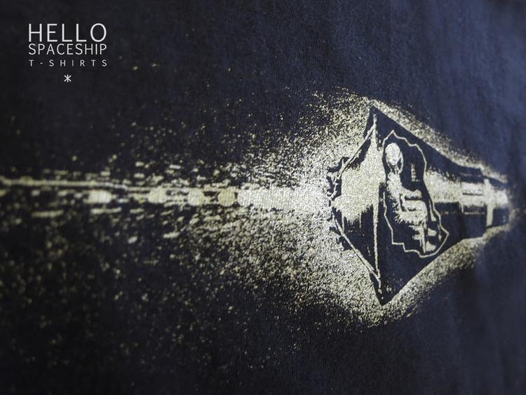 spaceship fast! Spaceship - silkscreen - hellospaceship   ello