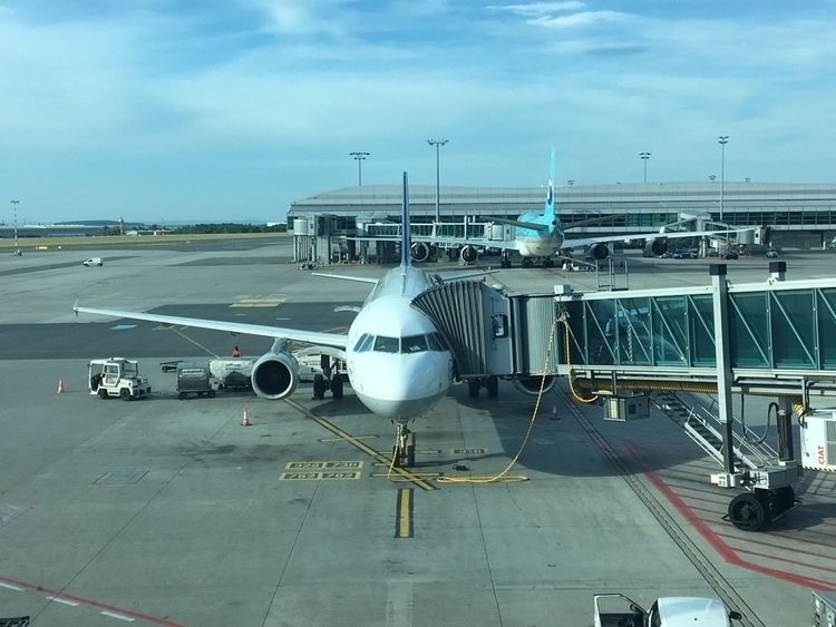 Prague. Landed PRG. Onwards… :a - rowiro | ello