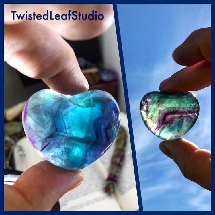 love gorgeous colors Fluorite h - twistedleafstudio | ello