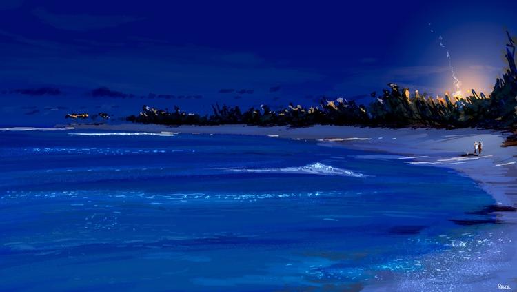 Island life Night - pascalcampion - pascalcampion | ello