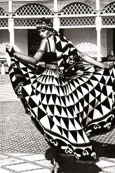 Morocco Bound spread - Triangles - ellothrift | ello