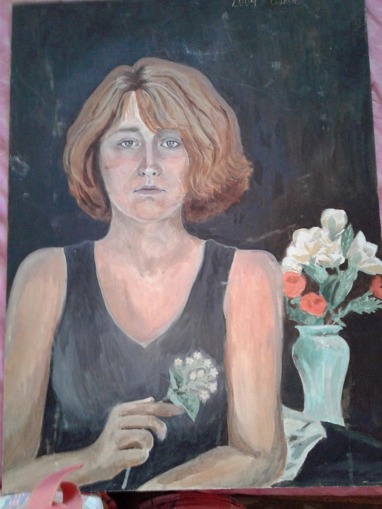 creepy portrait - worldgoesround | ello