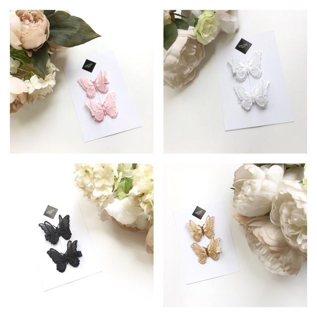 Belles Birthday Butterfly clips - ninetoesandco   ello