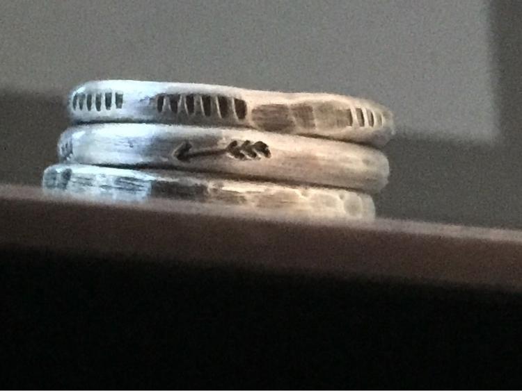 Stackers Sterling silver stacke - joylarose | ello