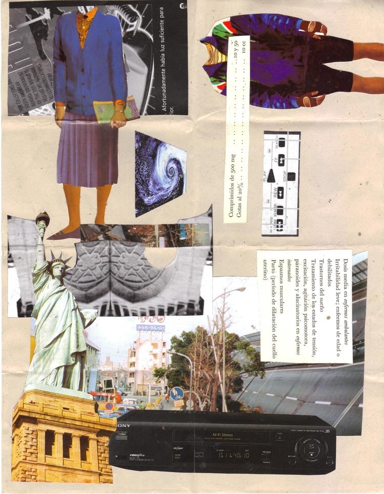 Valium Collage fanzine - collage - lacaradenadie | ello