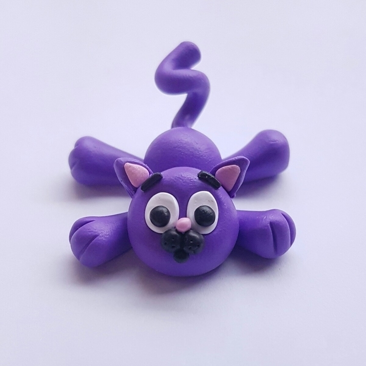 absolutely idea cats purple  - cute - raynbowgarden | ello