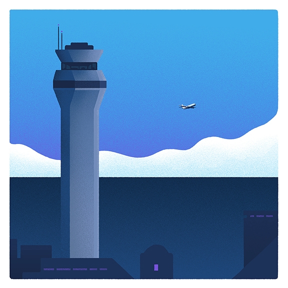 Early Morning Flight - dylanfowler | ello