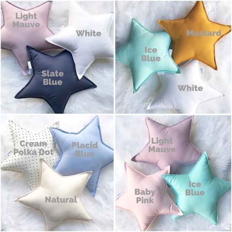 colours Star Cushions - starcushion - littlebambinobear | ello