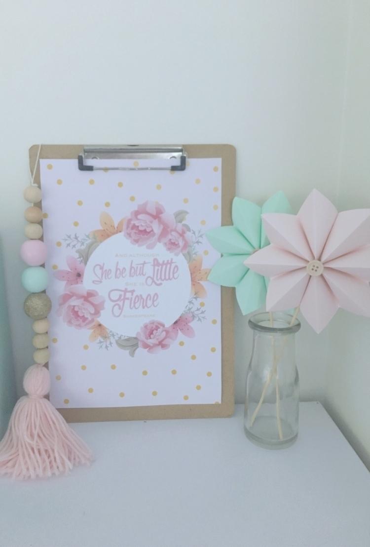 pretty print - girlsbedroom, styling - mummaof3styling | ello