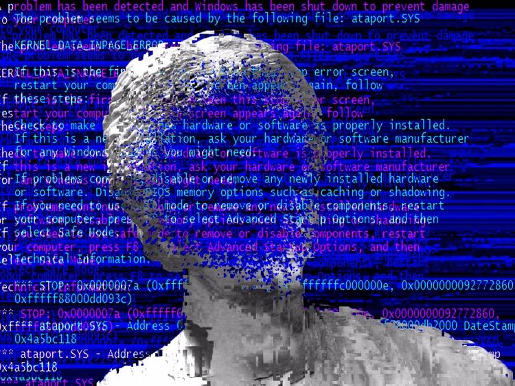ERROR - Face - DigitalDecadeCyberia - 404soul | ello