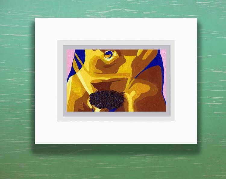 Spencer acrylic bristol, 4x6 7x - crd_larson | ello
