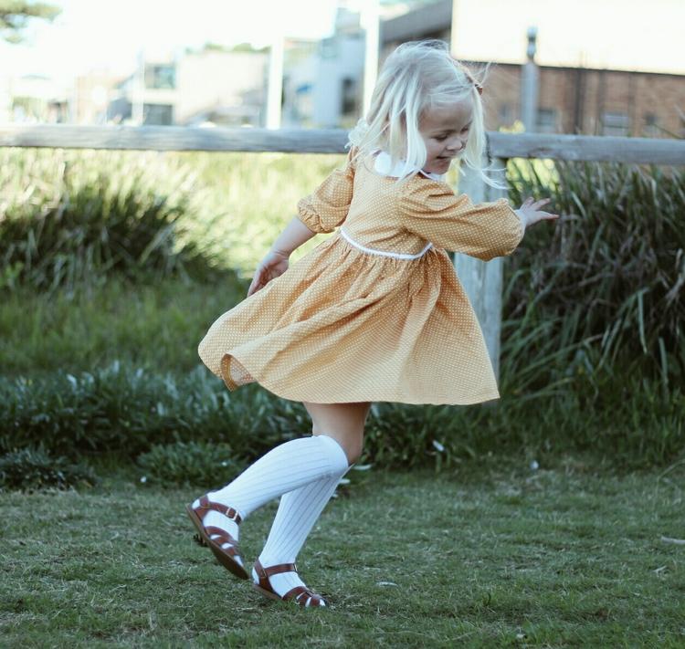 Mila happily twirling Sunday dr - nurturethenest | ello