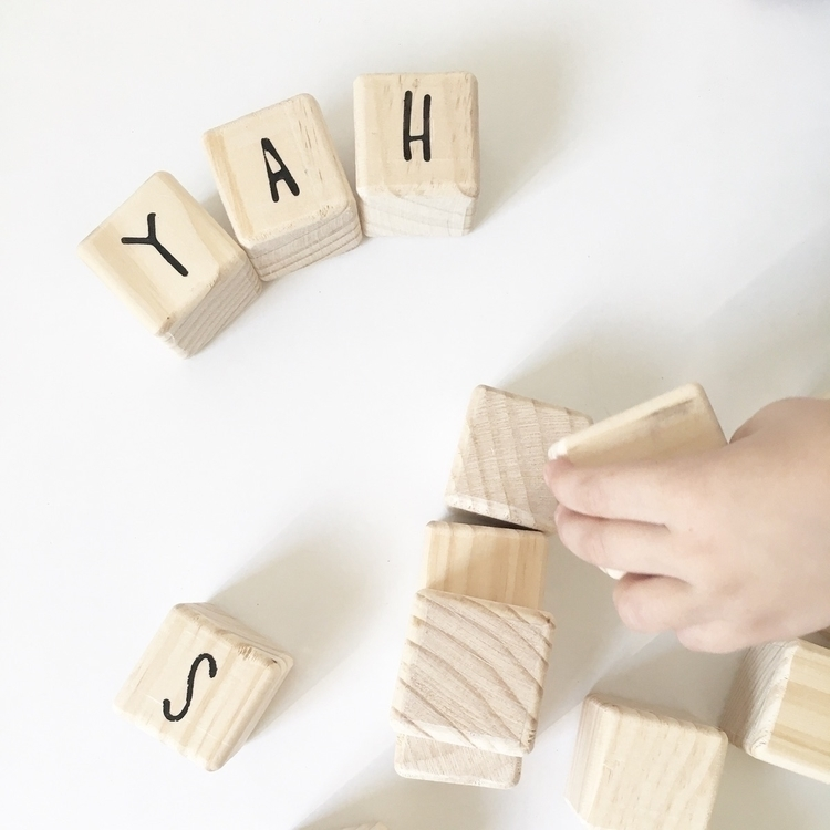 YAH weekend - woodenblocks, woodentoys - littleleafkids | ello