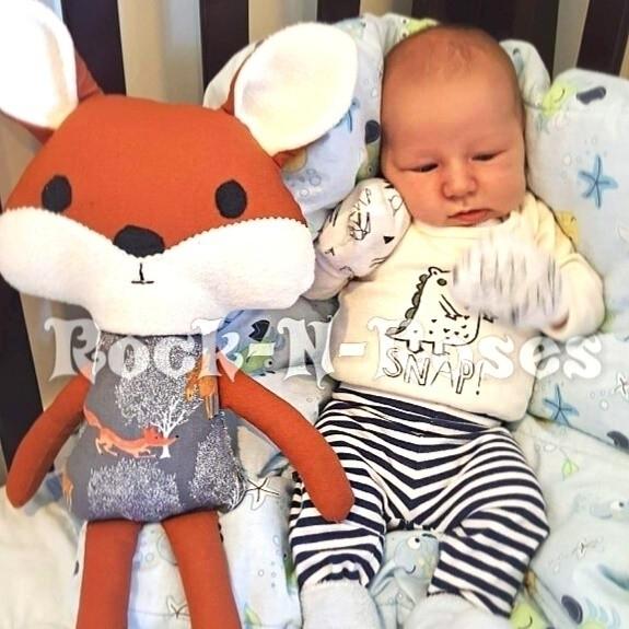 Fox Baby Jake - rocknrosesdolls | ello