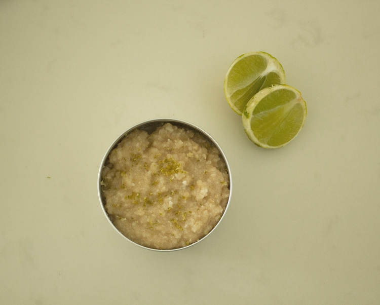 Coconut lime body scrub, real c - wildandfreeorganics | ello