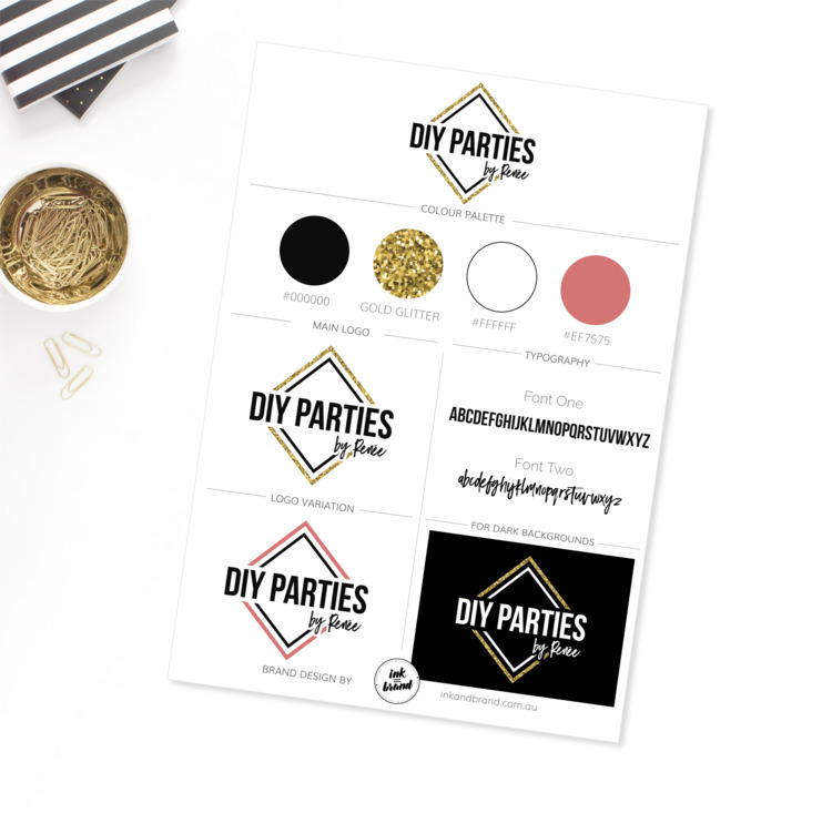 Custom Branding Package DIY Par - ink_and_brand | ello