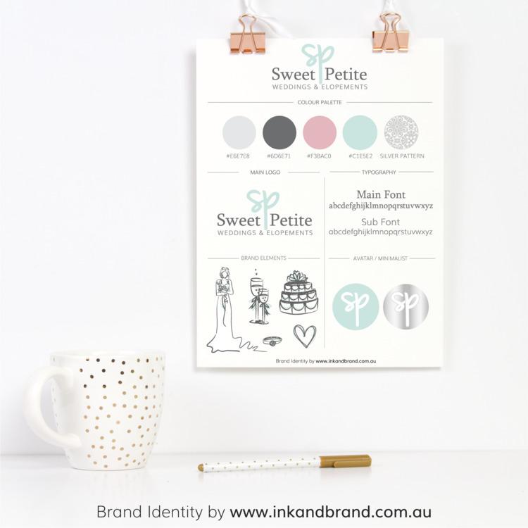 Branding Package Sweet Petite W - ink_and_brand   ello