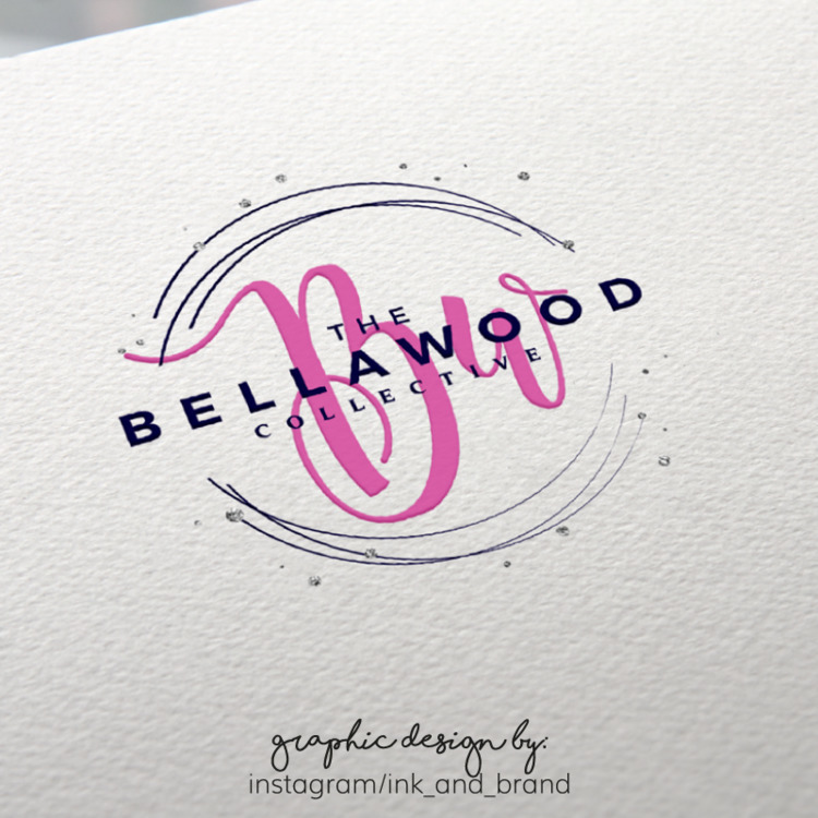 Logo Design Bellawood Collectiv - ink_and_brand | ello