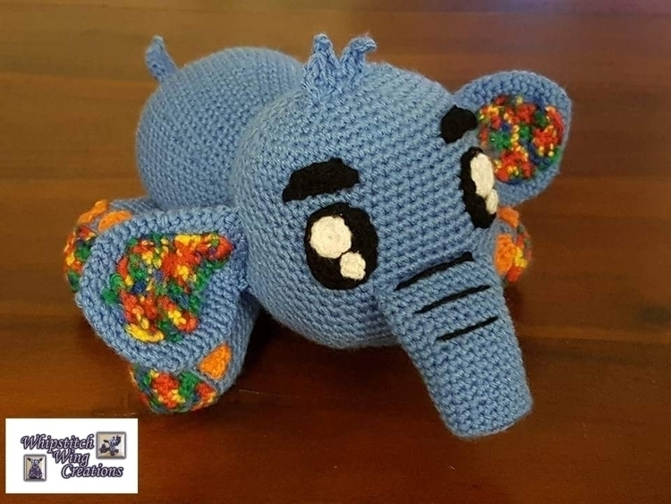 Echo Elephant Kamila (Krawka) K - whipstitchwingcreations   ello