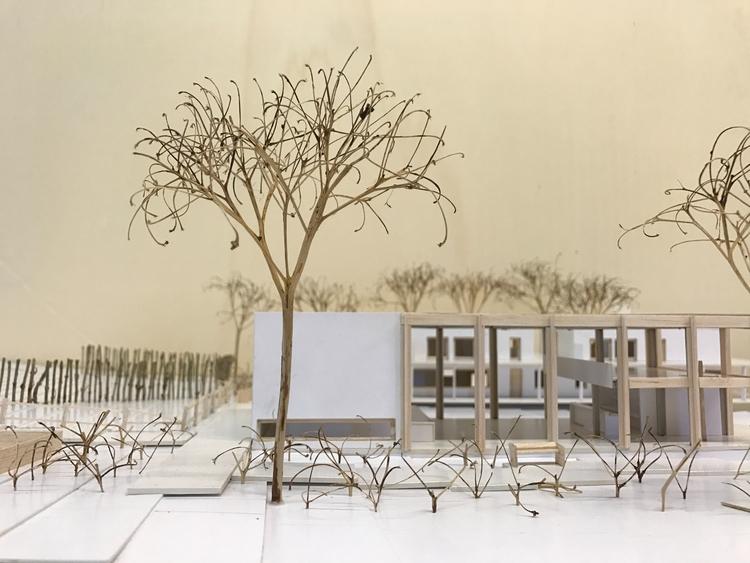 Architectural model village hal - tjorvenrappelet | ello