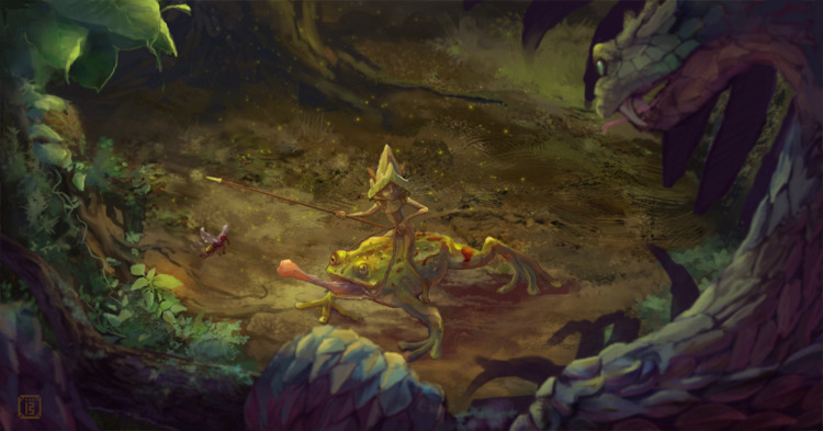 gaze - Junefae#3 bit setting in - malthus_wolf | ello